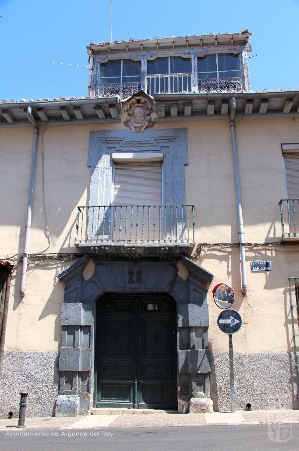 Casa del Obispo Sancho Granado.