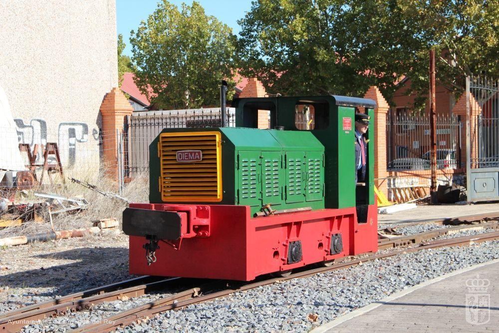 Locomotora Diesel Diema. Museo del Tren.