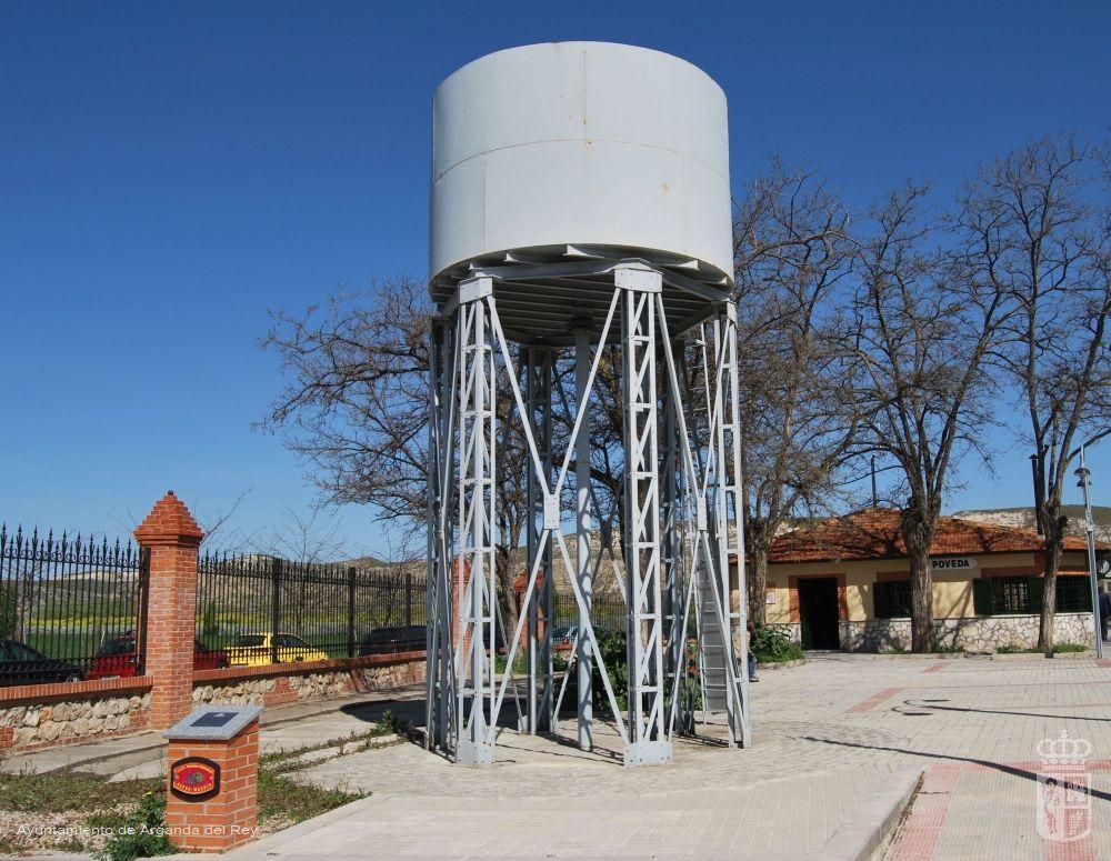 Depósito de agua. Museo del Tren.