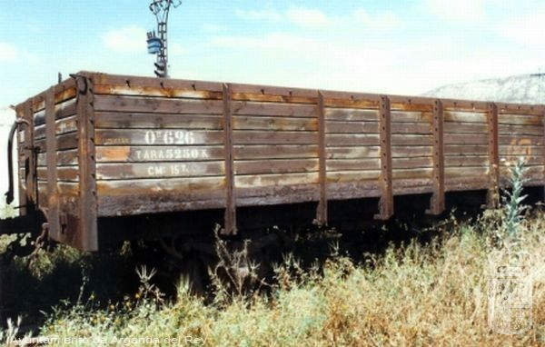 "Vagones de tipo ""potasero"", serie Ow 623 / 626 / 645. Museo del Tren."
