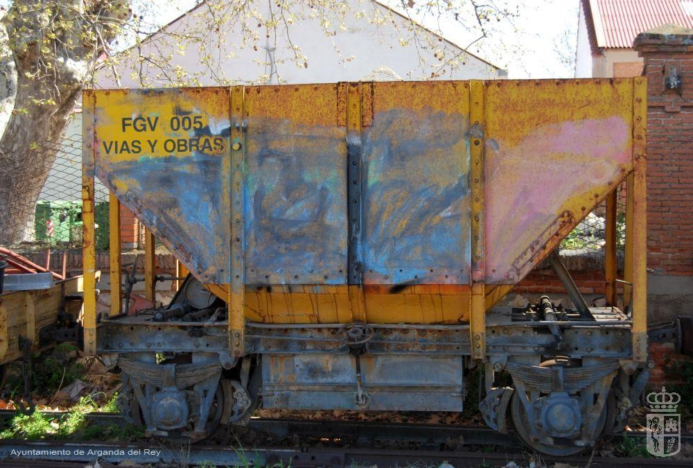 Tolva FGV 005. Museo del Tren.