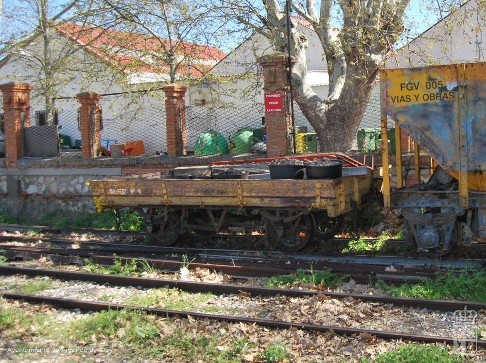 Plataforma de borde bajo FGV M1. Museo del Tren.