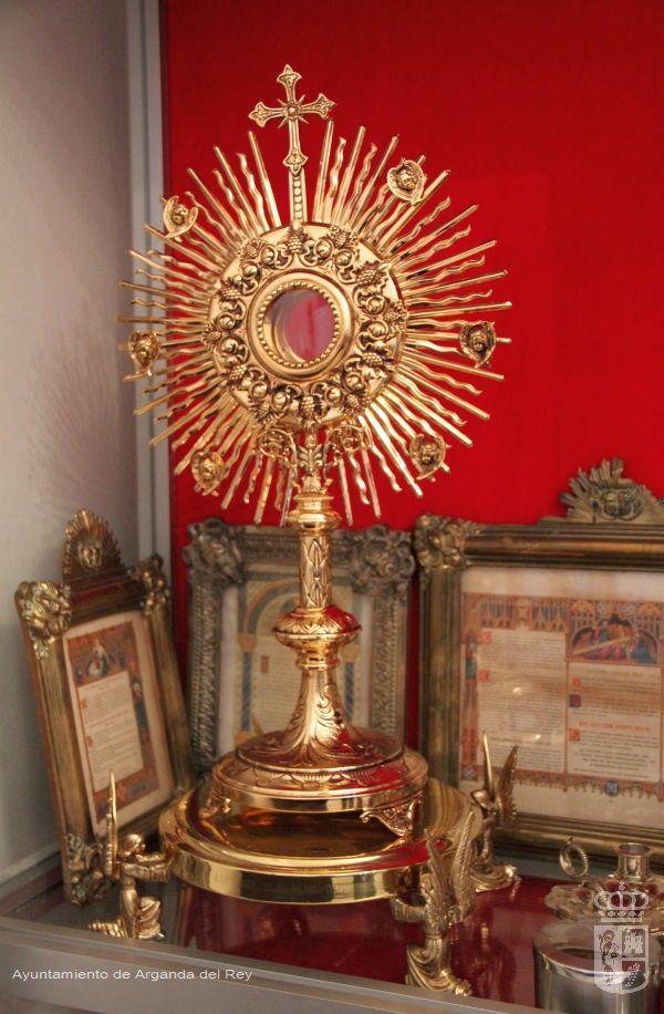Custodia procesional. Ermita de la Soledad.