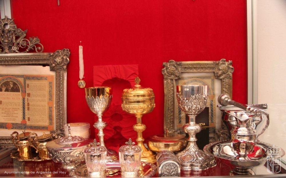 Objetos litúrgicos. Ermita de la Soledad..