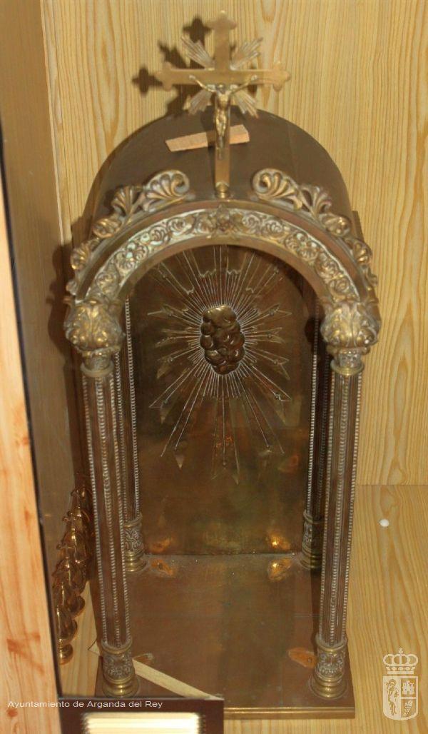 Expositor de Custodia. Ermita de la Soledad.
