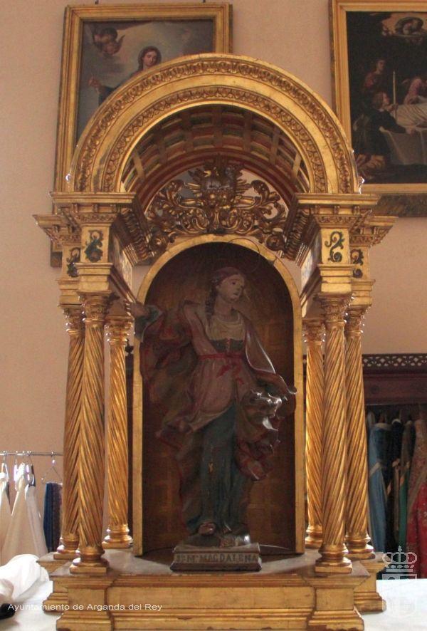 Tabernáculo. Iglesia de San Juan Bautista.