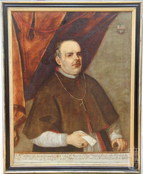 Pintura del Obispo José Sancho Granado.